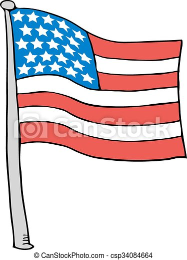 creative design of united states flag clip art vector search rh canstockphoto com united states clip art free united states clipart free