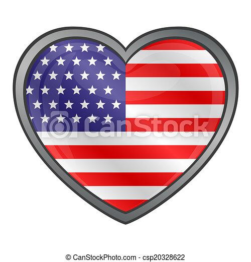 United States Flag  - csp20328622