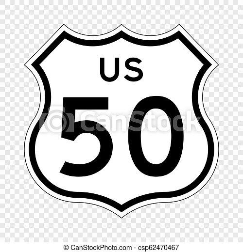 United States Highway shield - csp62470467