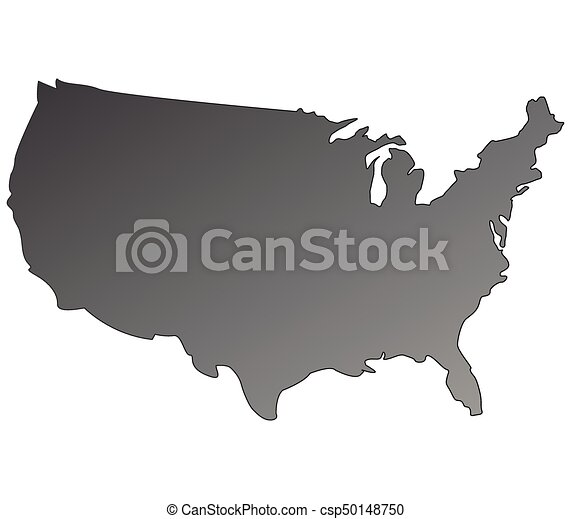 United States Map Clipart Vector Search Illustration Drawings And