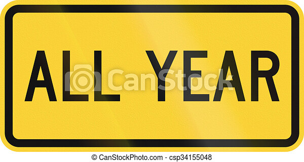 United States Mutcd School Zone Road Sign All Year