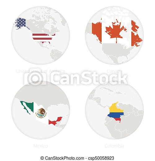 United States of America, Canada, Mexico, Colombia map contour and on united states flag border, united states flaf, american flag, united states flag soccer, united states flag with eagle, united states flag drawing, chiapas state flag, united states america flag, 1830 united states flag, united states flag 1861, united states flag history, londonderry ireland flag, united states national flag, united states flag background, mexican flag, united states flag waving, united states flag texture, united states post flag, united states flag code, united states army flag,