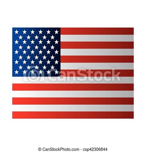 united states of america flag vector illustration design eps vector rh canstockphoto com united states navy flag vector united states navy flag vector