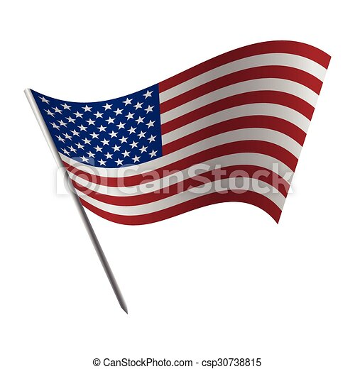 united states of america flag vector clip art search illustration rh canstockphoto com american flag clipart vector