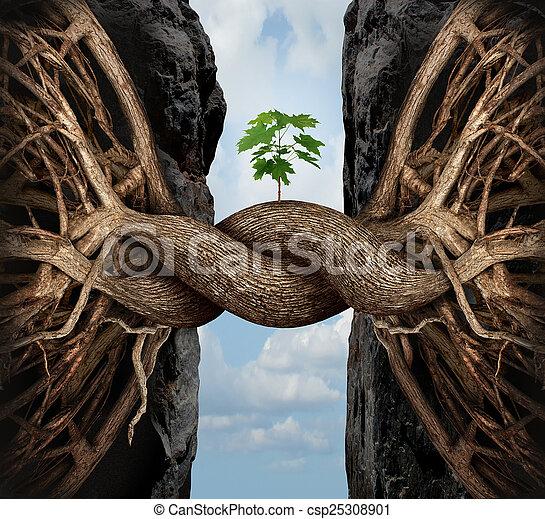 Unity Growth Concept - csp25308901