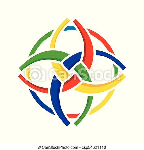 unity in diversity circular symbol design unity in diversity rh canstockphoto ca eps vector graphics eps file vector graphics