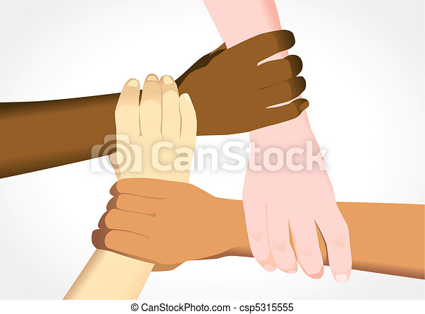 Unity Line Art Map : Unity in diversity stock illustration of people holding