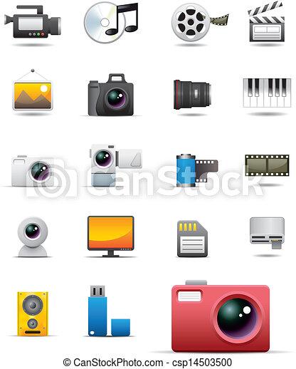 Universal media icons - csp14503500