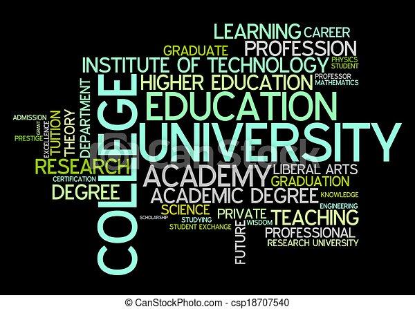 Universidad y universidad - csp18707540