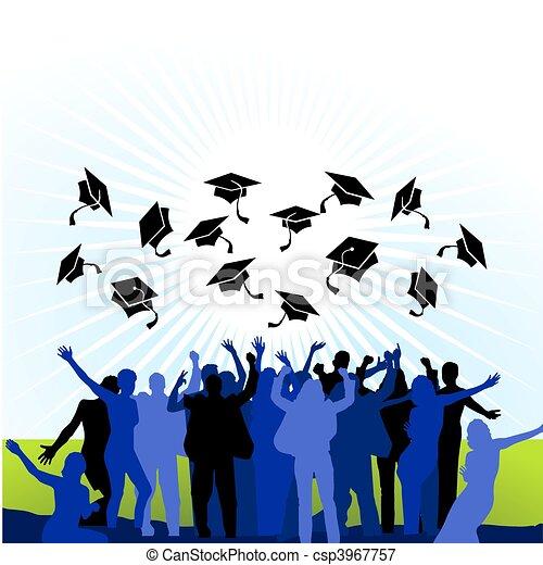 universiteit, examen - csp3967757