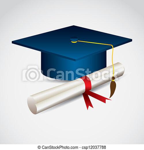 University icons - csp12037788