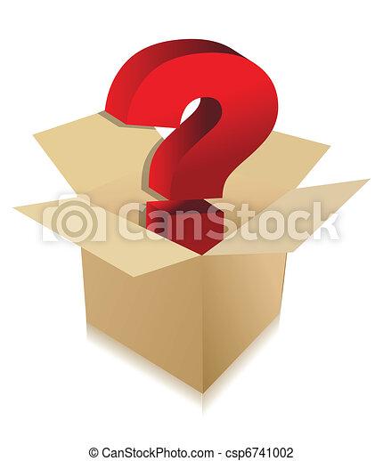 unknown box content concept - csp6741002