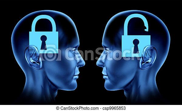 Unlocking the Brain - csp9965853