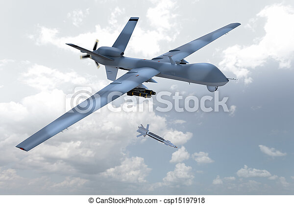 Unmanned Drone - csp15197918