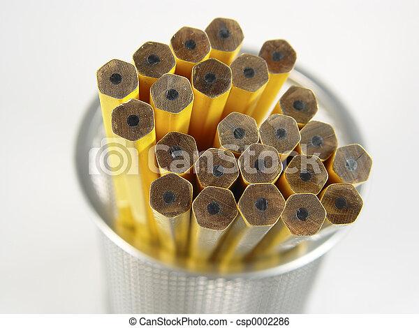 Unsharpened Pencils - csp0002286