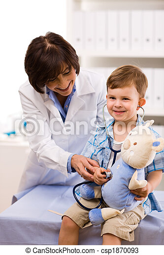 Doktor Untersuchungskind - csp1870093