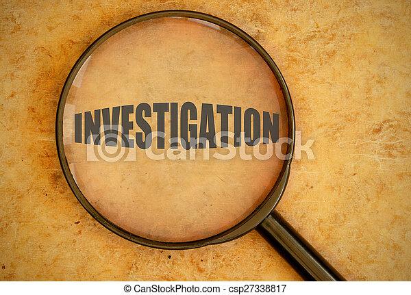 Untersuchung - csp27338817