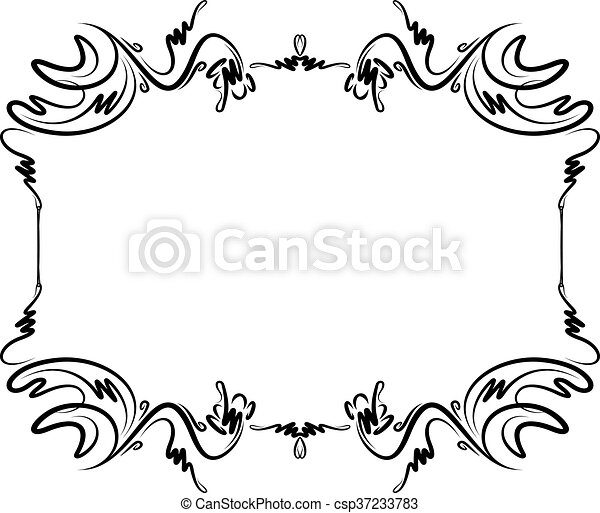 unusual decorative lace ornament vintage frame with empty rh canstockphoto com lace vector free lace vector background