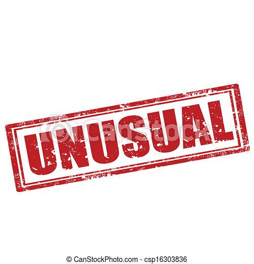 Un sello inusual - csp16303836