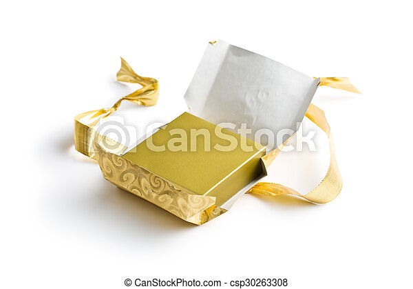 unwrapped gift - csp30263308