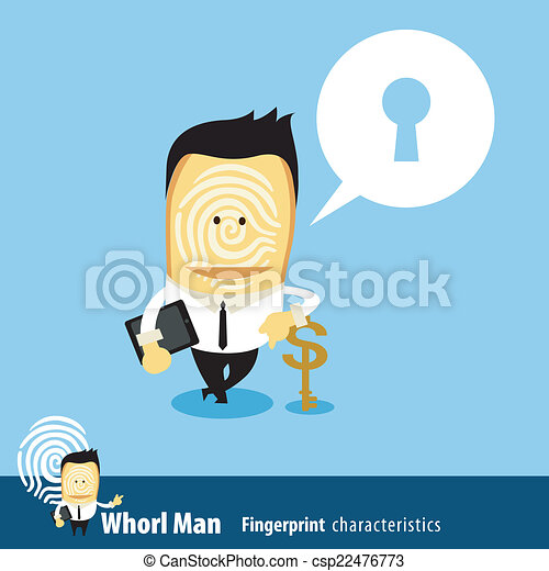 uomo, affari, chiave, & - csp22476773