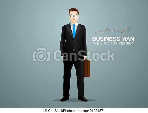 uomo affari - csp40123457