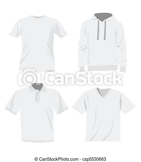 uomo, mascherine, t-shirt - csp5530663