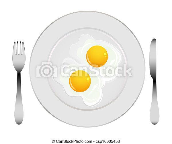 uova, piastra - csp16605453