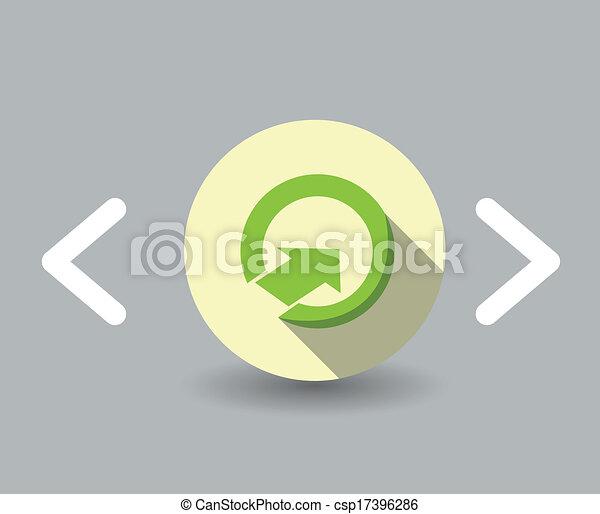 up Arrow icon - csp17396286