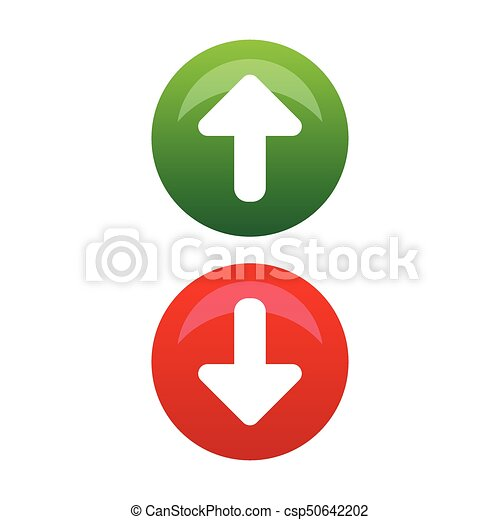 Clip Art Up Arrow - Arrow Pointing Down And Up, HD Png Download ,  Transparent Png Image - PNGitem