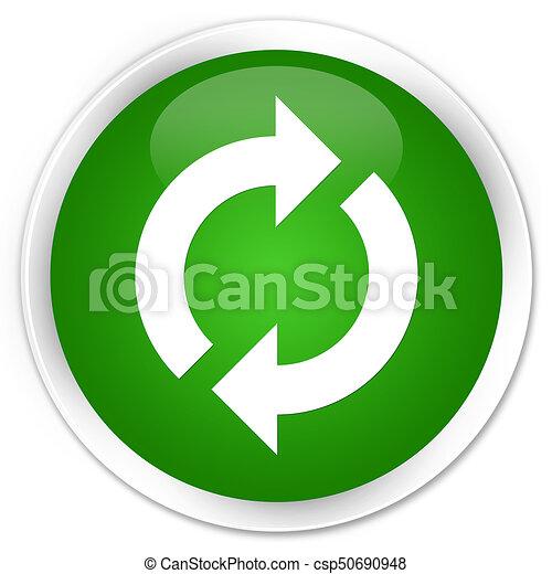 Update icon premium green round button - csp50690948