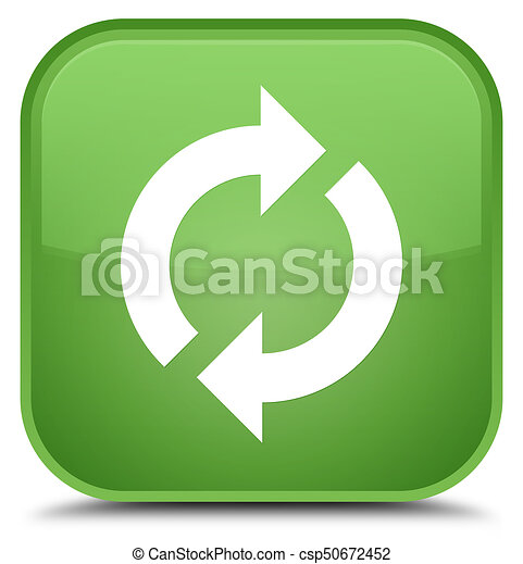 Update icon special soft green square button - csp50672452