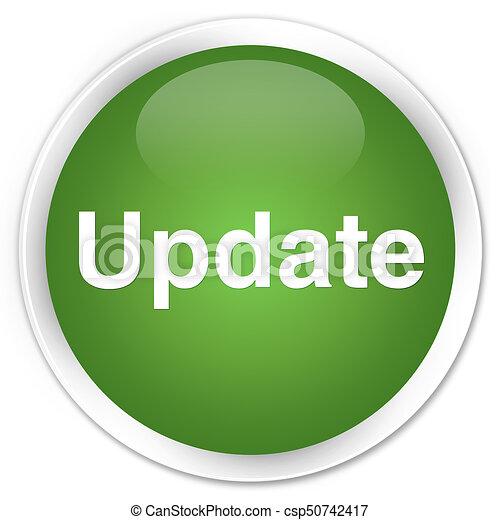 Update premium soft green round button - csp50742417