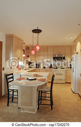 Updated Kitchen Interior  - csp17242270