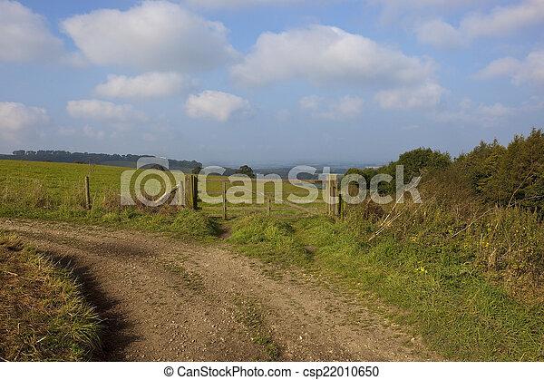 upland farm gate - csp22010650