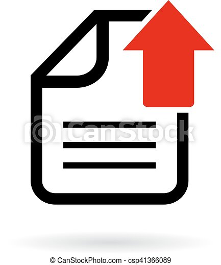 upload document icon upload your document icon vector search clip rh canstockphoto com document clipart gif document clipart gif