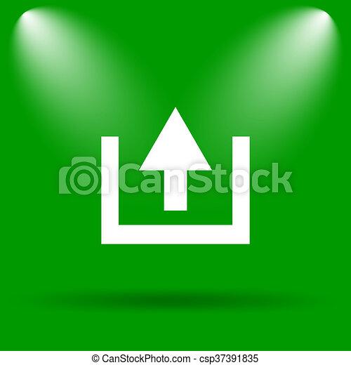 Upload icon - csp37391835