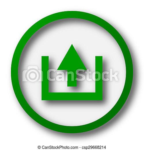 Upload icon - csp29668214