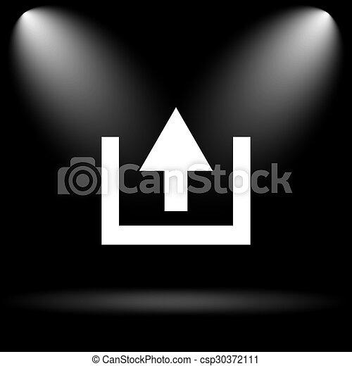 Upload icon - csp30372111