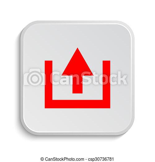 Upload icon - csp30736781