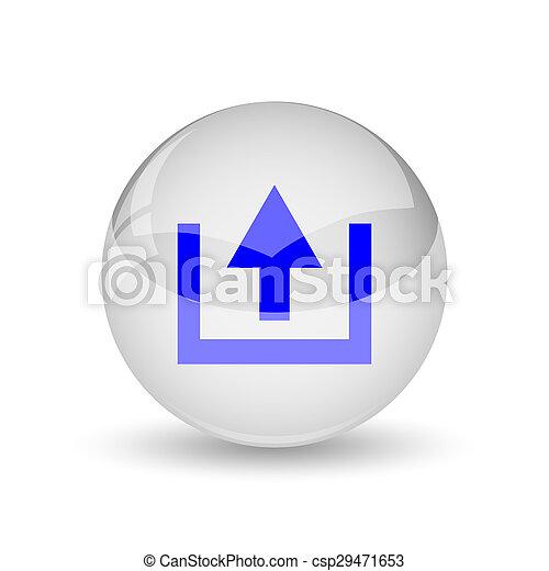 Upload icon - csp29471653