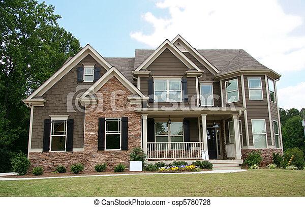 Upper class luxury home - csp5780728