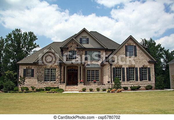 Upper class luxury home - csp5780702
