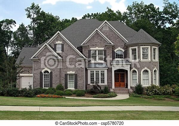 Upper class luxury home - csp5780720