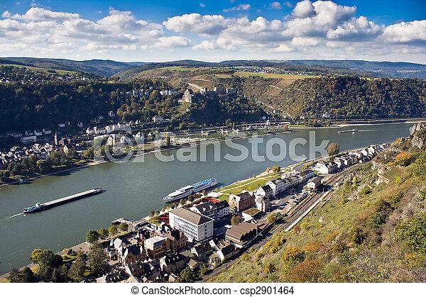 Upper Middle Rhine Valley, World Heritage Site - csp2901464