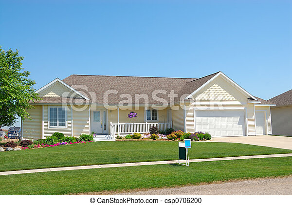Upscale Residential House - csp0706200