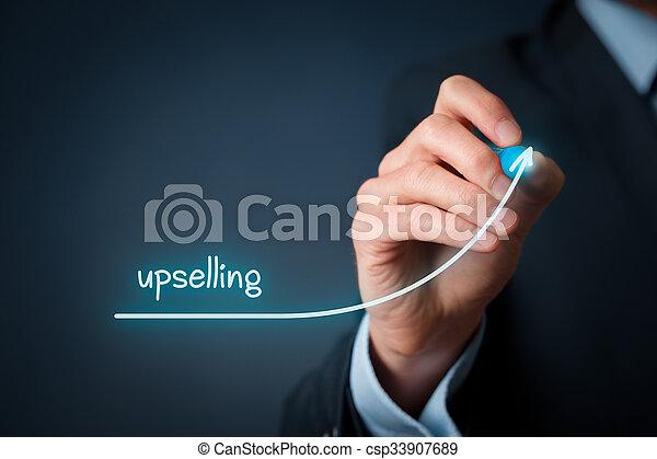 Upselling - csp33907689