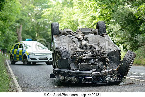 upside down car - csp14499481