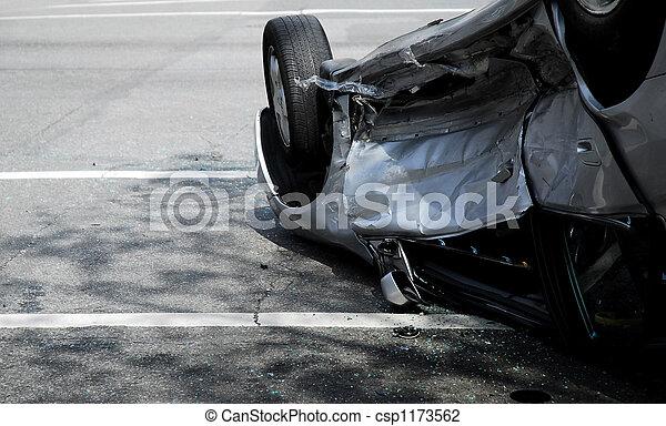 Upside-down Car - csp1173562
