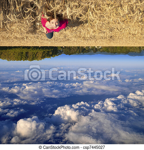 Upside Down - csp7445027